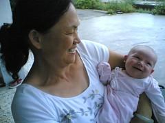 Kaia and grandma
