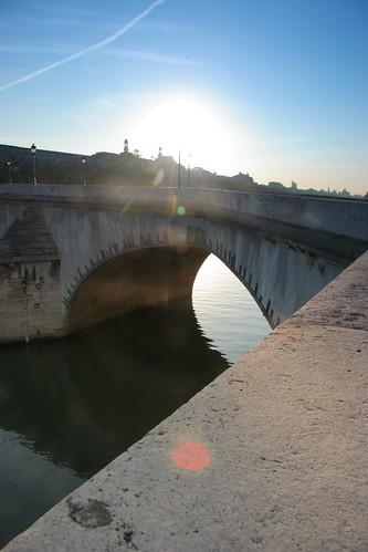 Une arche sur la Seine