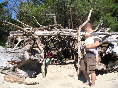 driftwood elf house!