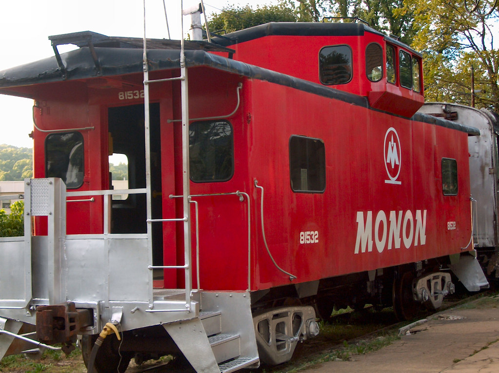 Monon Caboose | Restored Monon Railway caboose  Cabooses are… | Flickr