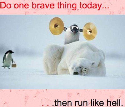 Do one brave thing today ... | by pvera
