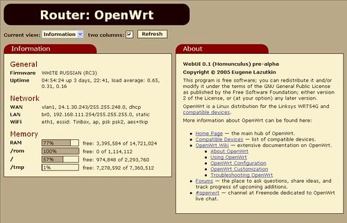 Openwrt Documentation