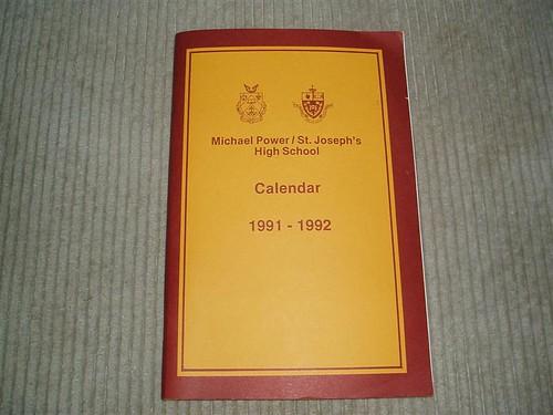 Michael Power Calendar 91-92 | by Mike Boon