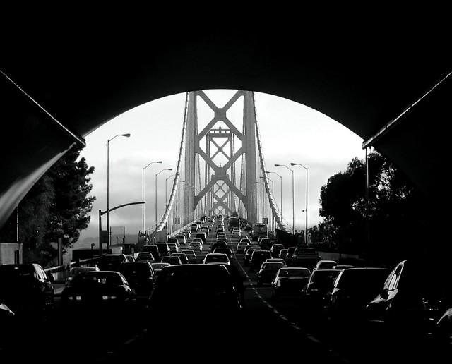 bridge traffic beauty