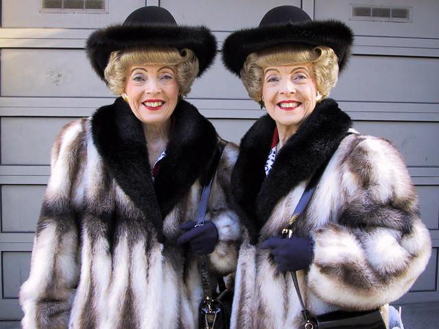 Marian and Vivian Brown