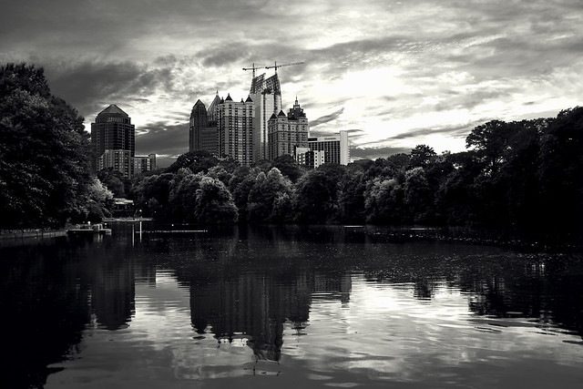 Midtown from Piedmont Park