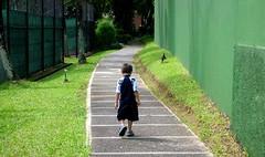 Walking alone | by moriza