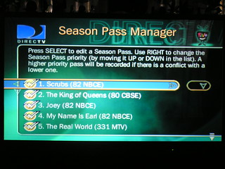 DirecTivo Season Pass Manager | by kevinandbrea