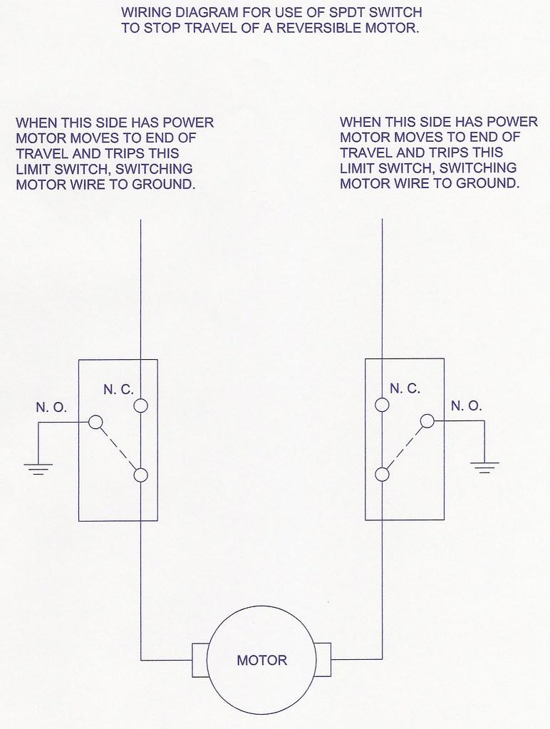 SPDT Switch wiring diagram | Automotive DC motors run either… | Flickr | Spdt Switch Wiring Diagram Foot |  | Flickr
