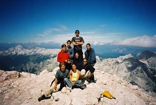 Triglav summit 2'864m