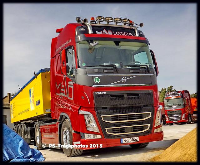 VOLVO FH13-500 Euro6 Globetrotter - Mai_Logistik - MR-J552 - D - Lück Kippsattel Kann_Beton