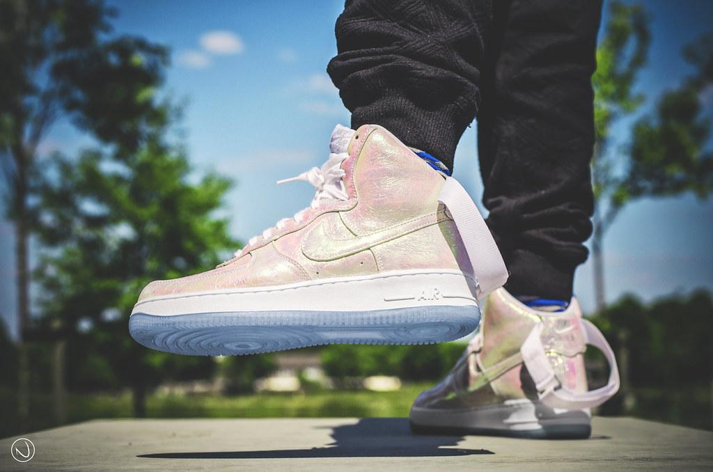 half off 57142 68d1c ... Nike Air Force 1 High Premium QS