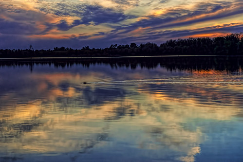 blue sunset red lake clouds reflections landscape louisiana peaceful beaver serene ripples oxbow bossiercity redriverwildliferefuge sonya7ii