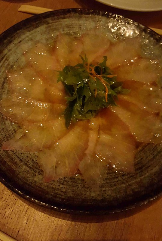 Yellow Fin Tuna Sashimi  - Dinner at ROKA (Medium)