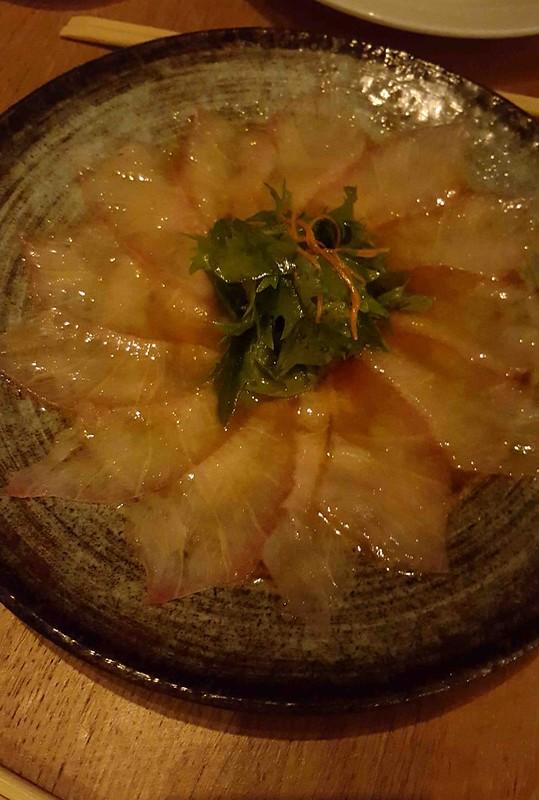 Yellow Fin Tuna Sashimi  - Dinner at ROKA (Medium)
