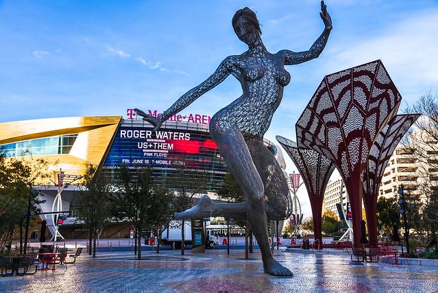 """Bliss Dance"" by Marco Cochrane. T-Mobile Arena. Las Vegas, Nevada"