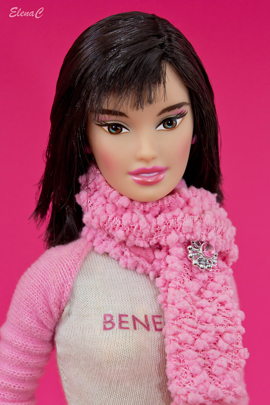 Barbie loves Benetton - Paris