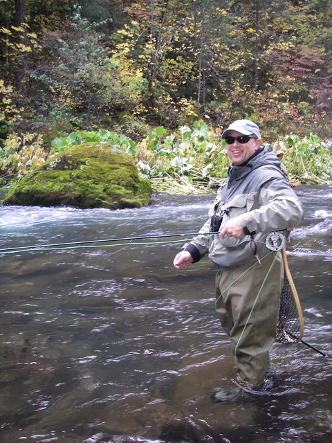 Rick & Fall colors on the McCloud river