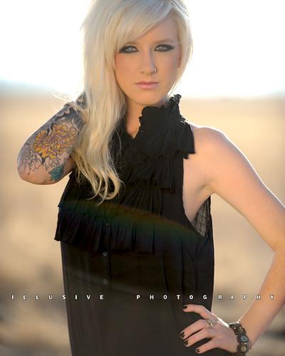 woman sexy tattoo blonde flare kpa bakersfield naturallighting kerncounty nikond700 illusivephotographycom antipordaphotographycom