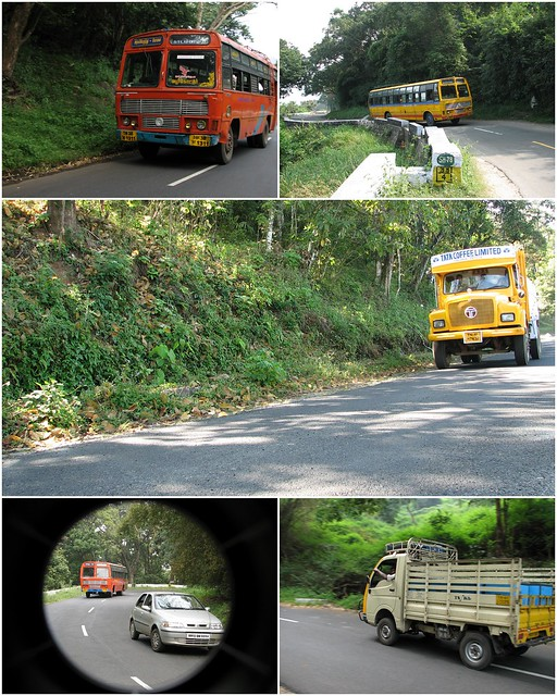 Vehicles of Valparai