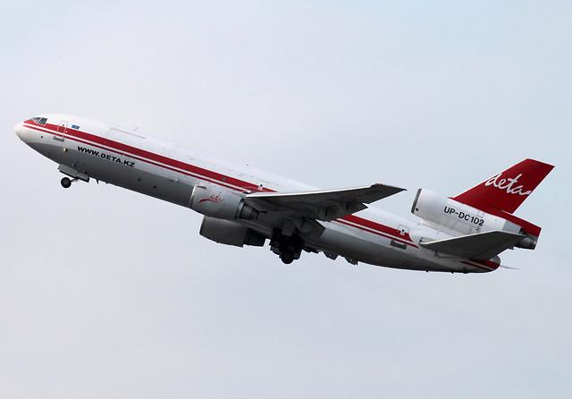 DC-10-40/F | DETA Air | UP-DC102 | HKG