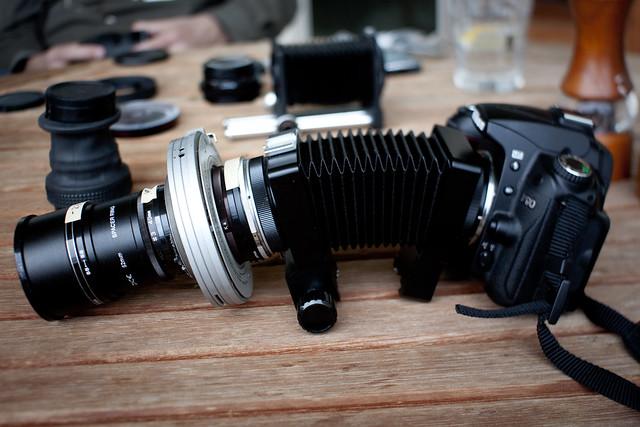 Johnnyoptic's DIY 191mm lens