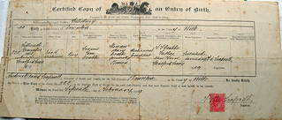 Old Birth Certificate | by crabchick