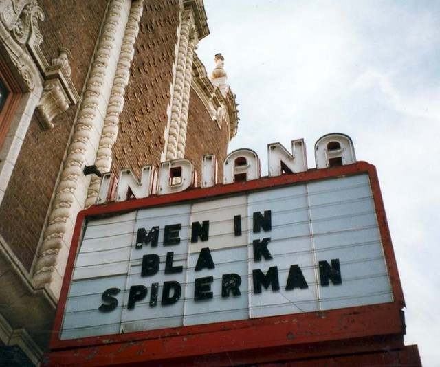 Indiana Theatre: Terre Haute, IN.