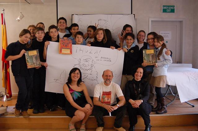 Cuentacuentos con Ana Cristina Herreros y Jesús Gabán (4/12/2009)