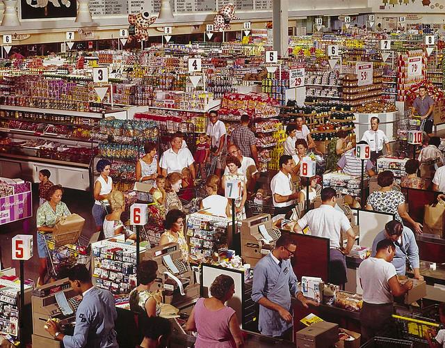 1964 ... supermarket