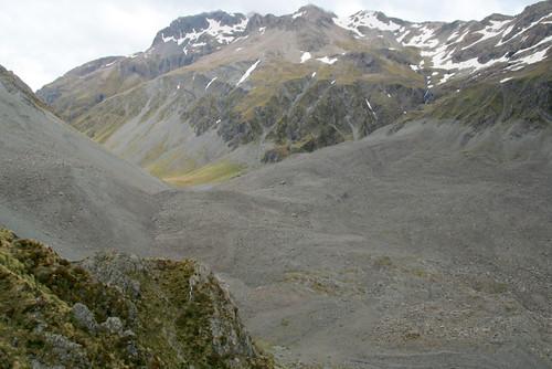 falling mountain debris flow | by go wild - NZ outside