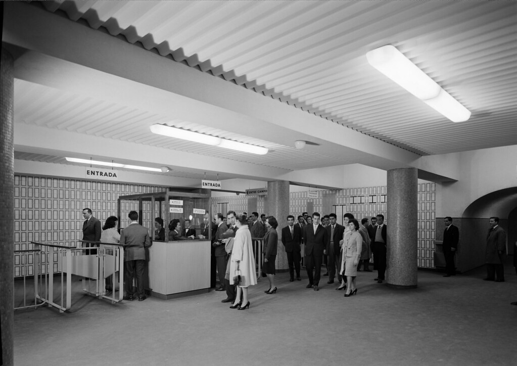 Metropolitano de Lisboa, Saldanha (H. Novaes, 1959)