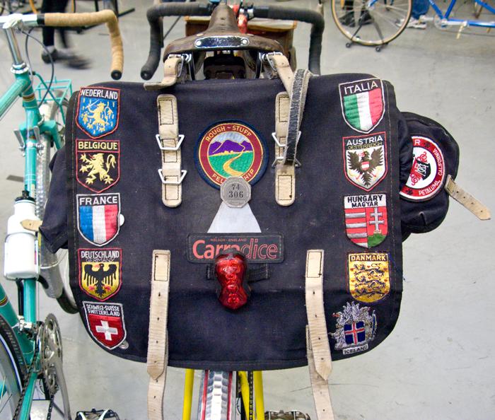 Vintage Jack Taylor Bicycle Pannier