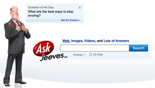 Ask Jeeves Web Search Remembrance Day | by search-engine-land