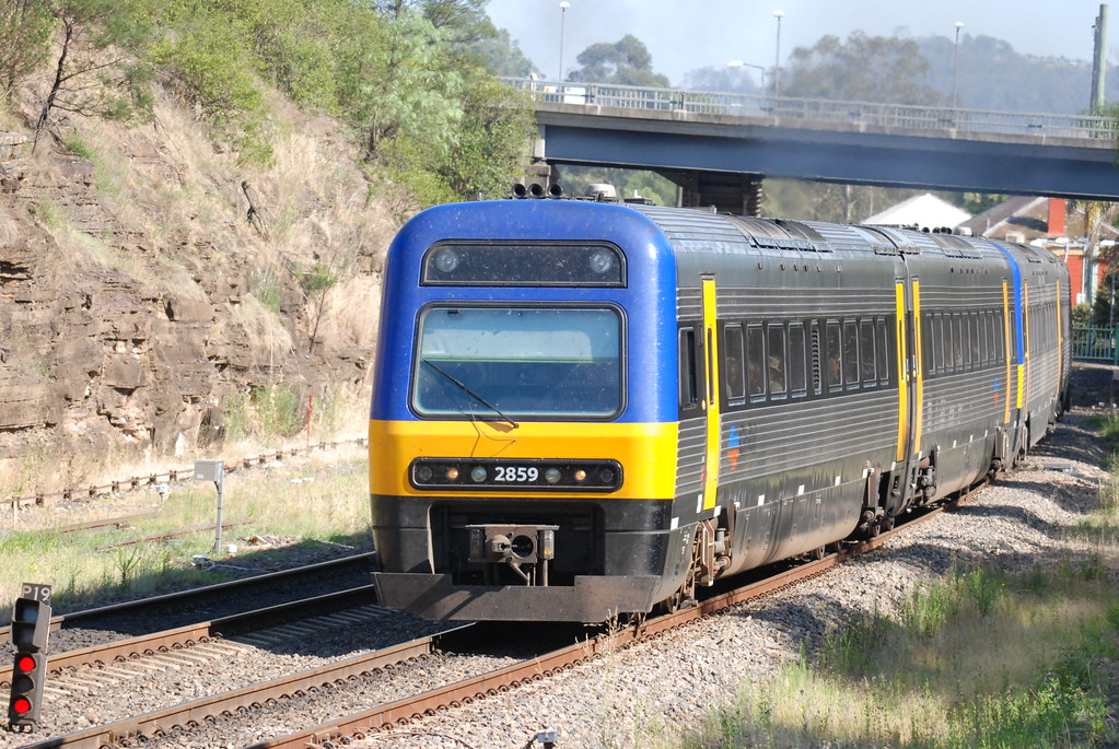 CityRail Endeavour Railcar by Tim Pruyn
