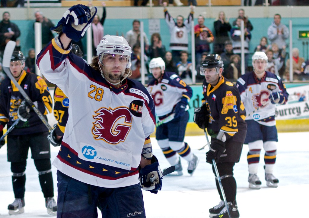 Guildford Flames Vs Bracknell Bees