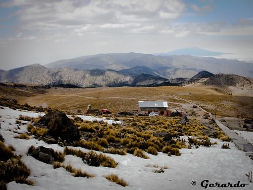 Panorámica desde el Pico de Orizaba