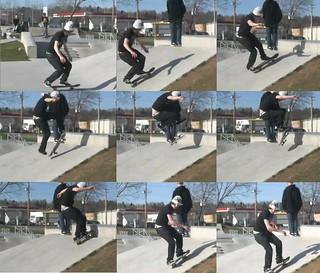 kickflip varial flip seq