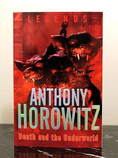 Death And The Underworld Author Anthony Horowitz