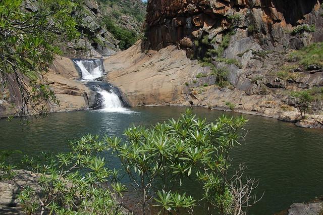 Water fall in Malolotja
