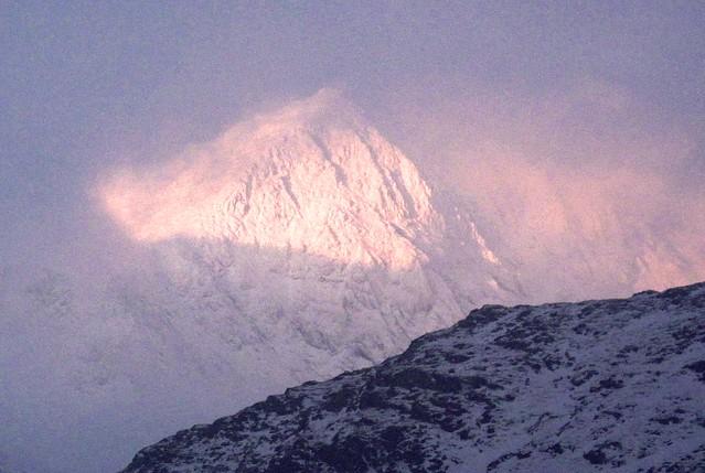 Snowdon first light