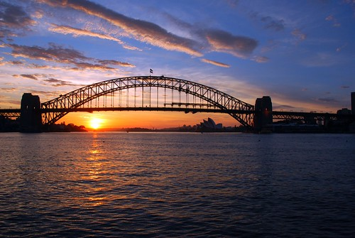 morning bridge sunrise view harbour sydney australia icon nsw colourful iconic sydneyharbourbridge mygearandmepremium mygearandmebronze mygearandmesilver mygearandmegold mygearandmeplatinum mygearandmediamond