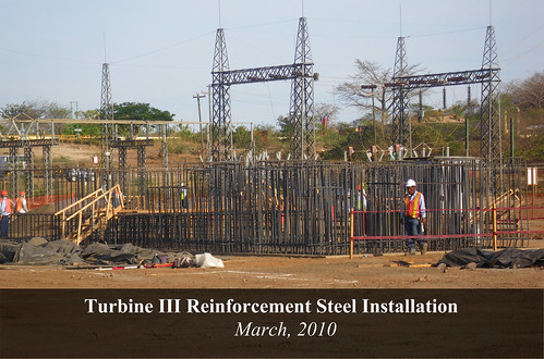 Turbine III Reinforcement Steel Installation (final) | by Ram Power Photo Gallery