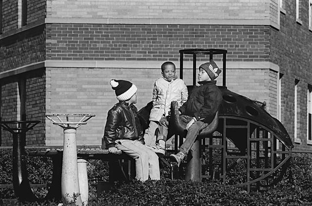 Three Boys In A Park, Washington, DC, #1