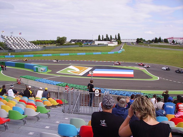Racing sidecars, Nevers Magny-Cours circuit