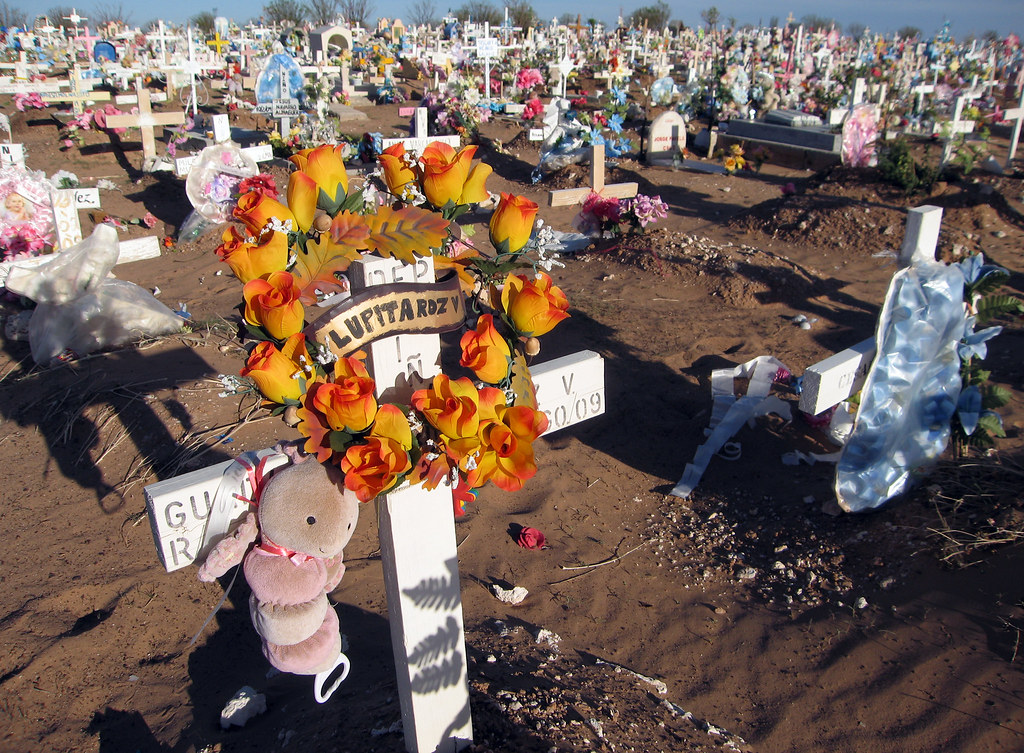 WORLD NEWS MEXICO-JUAREZ 15 MCT | The cemetery in Ciudad Jua