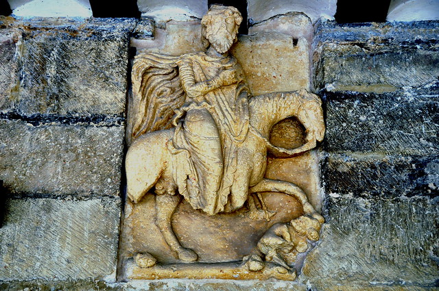 134 - Relieve Pórtico - Basílica San Prudencio - Armentia / Vitoria - Gasteiz (Alava) - Spain.