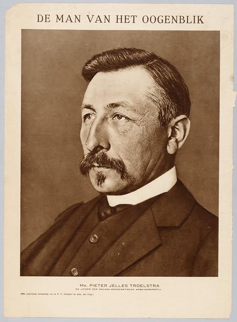 Pieter Jelles Troelstra 1913 Uit De Panorama Van 30 Juli