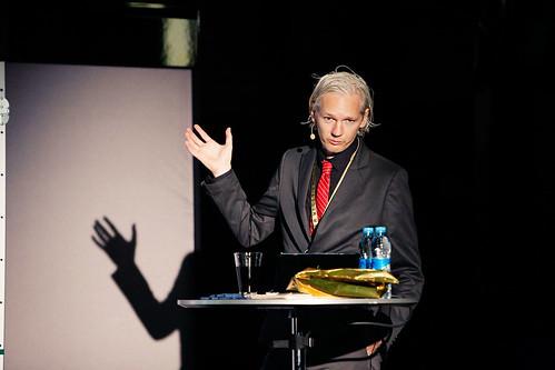 The Subtle Roar of Online Whistle-blowing: Julian Assange   by New Media Days