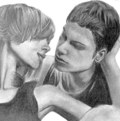 Kissing couple pencil drawing | Miss jenniferelizabeth ...